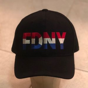 e57bb6a94 NEW BLACK FDNY BALL CAP
